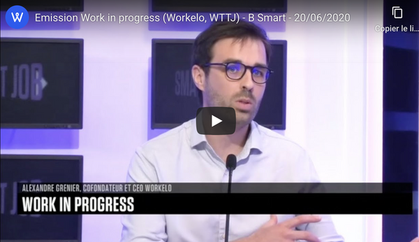 [Replay] Workelo de passage dans l'émission TV 'Work in progess' (06/2020)